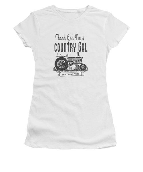 Thank God I Am A Country Gal Women's T-Shirt