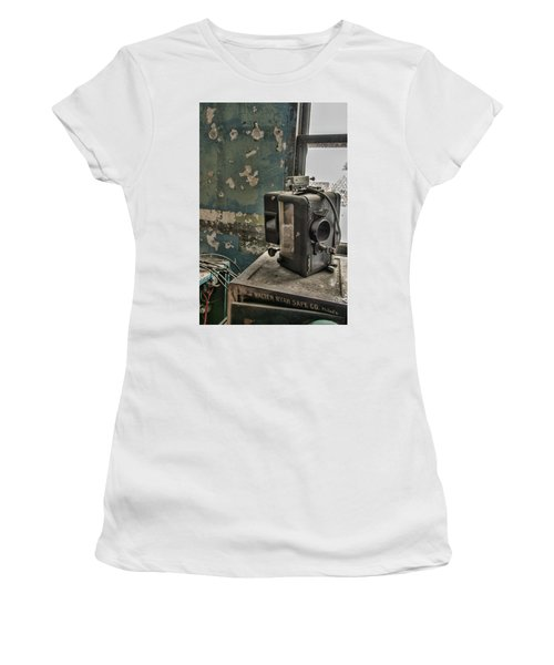 The Abandoned Projector Women's T-Shirt (Athletic Fit)