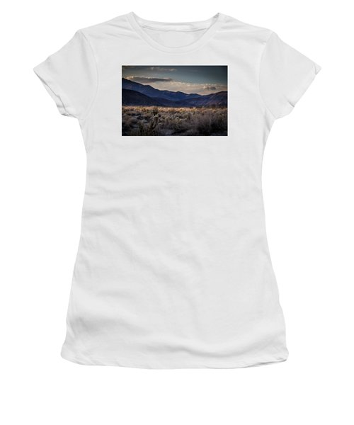 Women's T-Shirt (Junior Cut) featuring the photograph The American West by Peter Tellone