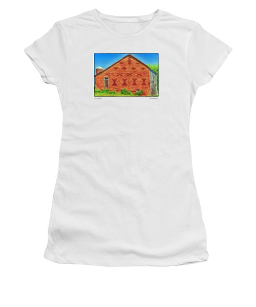 The Ascension Women's T-Shirt (Junior Cut) by R Thomas Berner
