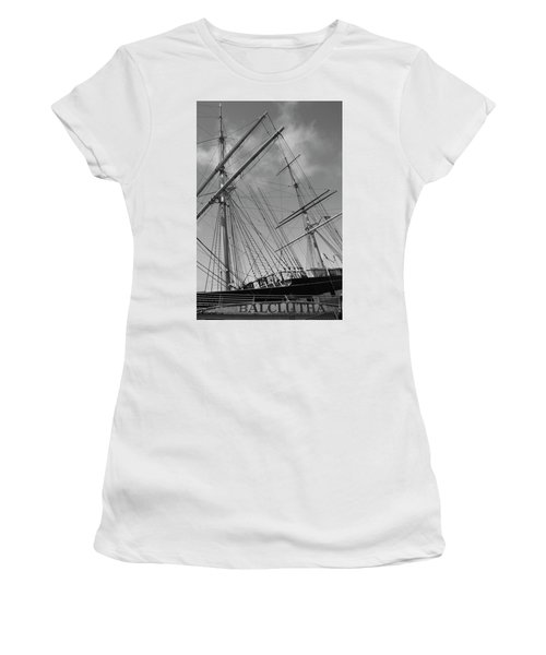 The Balclutha Caravel Women's T-Shirt (Athletic Fit)