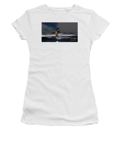 The Beach 5 Women's T-Shirt (Athletic Fit)