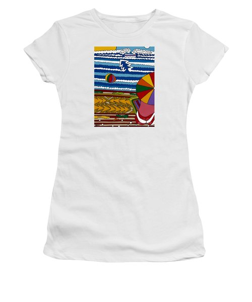 The Beach Women's T-Shirt