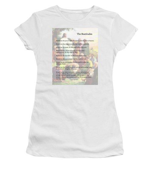 The Beatitudes Women's T-Shirt