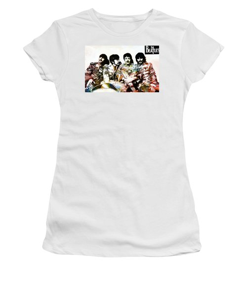 The Beatles--sargent Peppers Lonely Hearts Club Band Women's T-Shirt