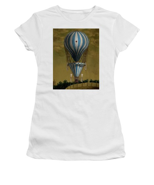 The Blue Balloon Women's T-Shirt (Athletic Fit)
