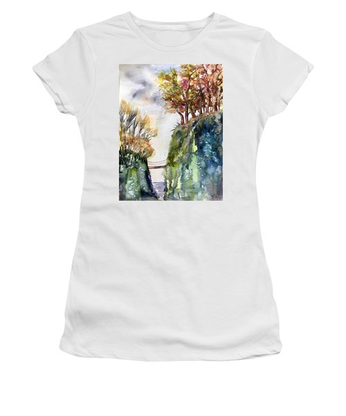 The Bridge Between Two Worlds Women's T-Shirt