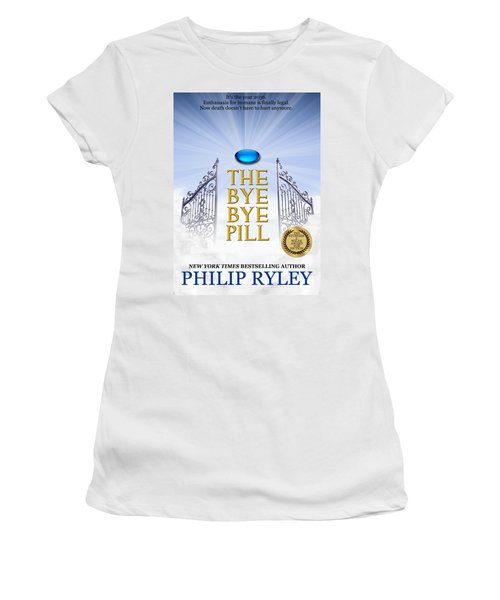The Bye Bye Pill Book Cover Women's T-Shirt