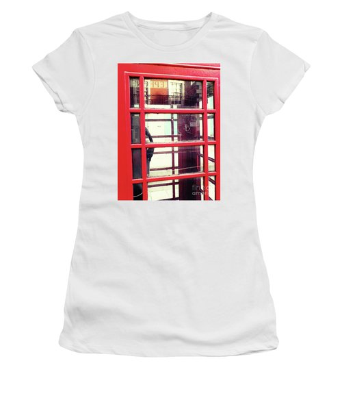 Women's T-Shirt (Athletic Fit) featuring the photograph The Calling by Rebecca Harman