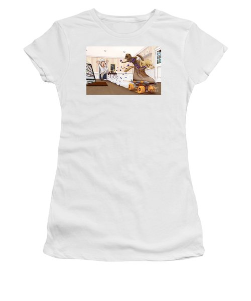 The Case Of The Missing Blueberries Women's T-Shirt