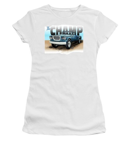 The Champ Women's T-Shirt (Athletic Fit)