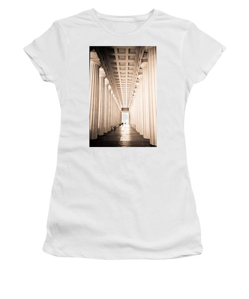 The Columns At Soldier Field Women's T-Shirt (Athletic Fit)