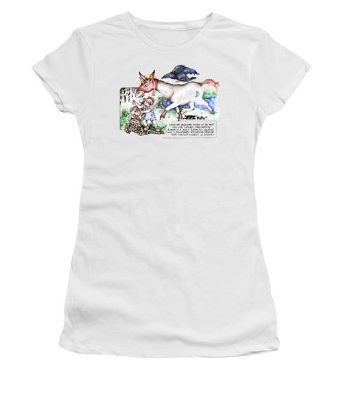 Real Fake News The Cosmograph Foto Women's T-Shirt