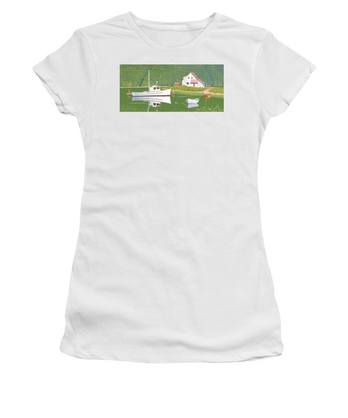 The Cottsge At Blackberry Point Women's T-Shirt