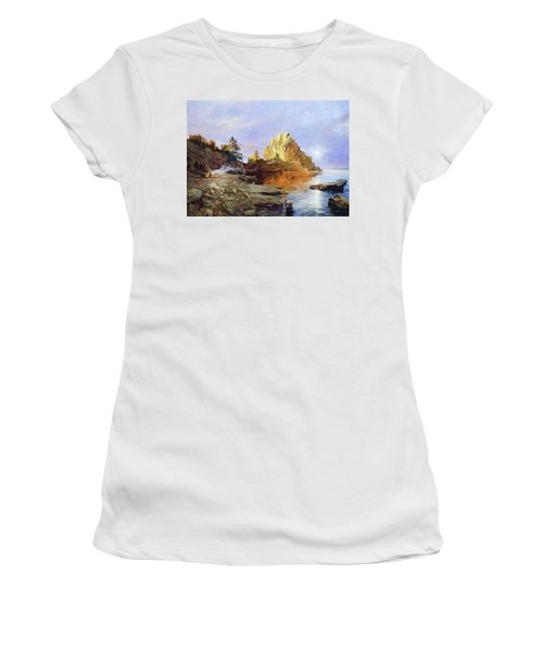 The Crest Of Rock Impressionism Women's T-Shirt