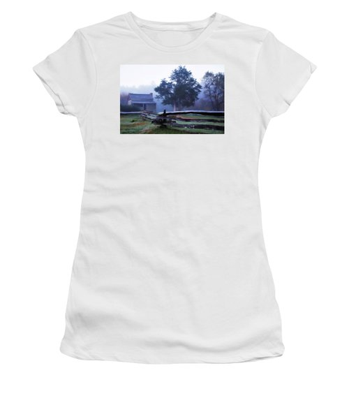 The Dan Lawson Place Women's T-Shirt (Junior Cut) by Lana Trussell