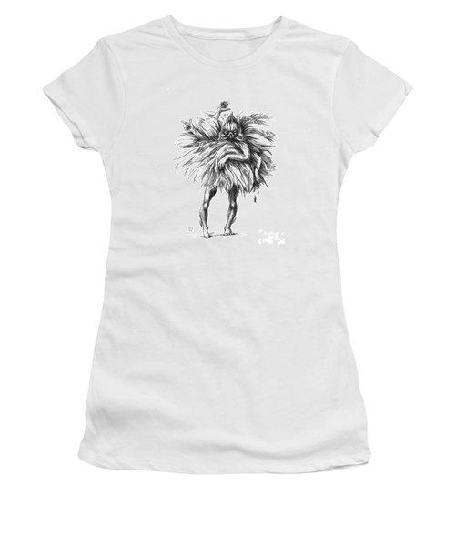 The Dance Macabre Women's T-Shirt (Athletic Fit)