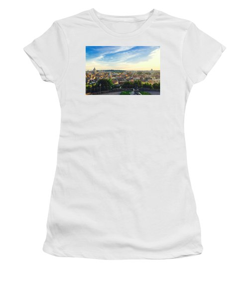 The Domes Of Rome Women's T-Shirt