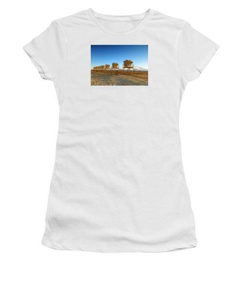 The End Of Summer Women's T-Shirt (Junior Cut) by Everette McMahan jr