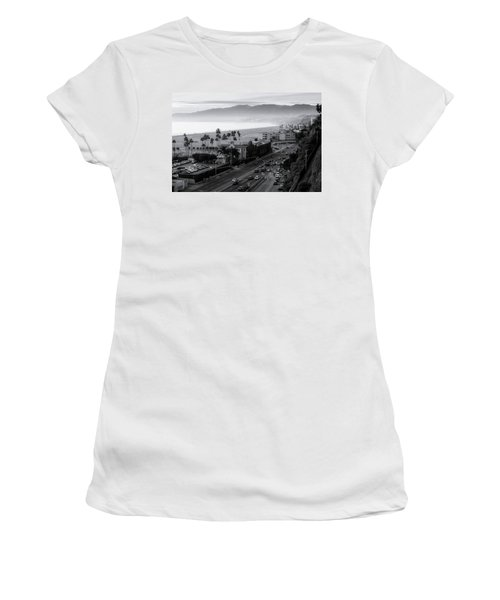 The Evening Drive Home Women's T-Shirt (Athletic Fit)