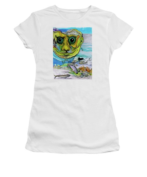 The Face Of Summer Lost Women's T-Shirt (Athletic Fit)