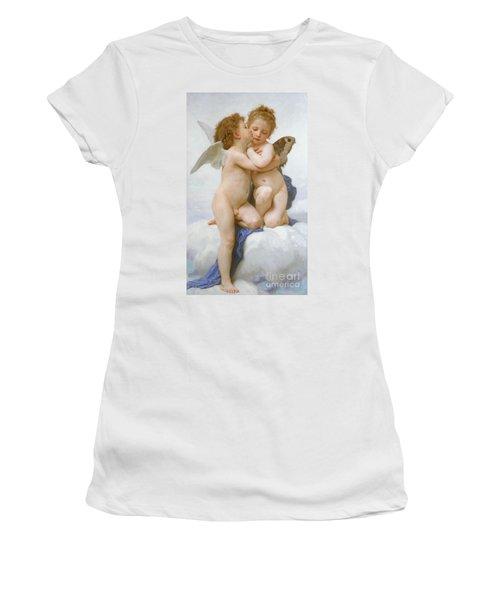 The First Kiss  Women's T-Shirt