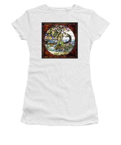 The Fish Women's T-Shirt (Junior Cut) by Joseph Skompski