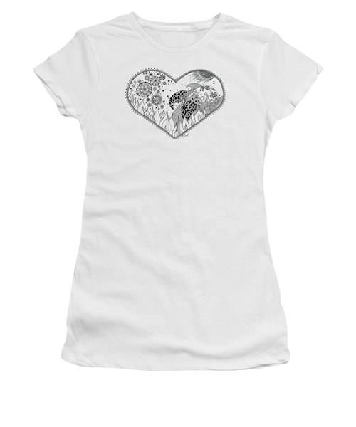 The Four Elements Women's T-Shirt (Junior Cut) by Ana V Ramirez