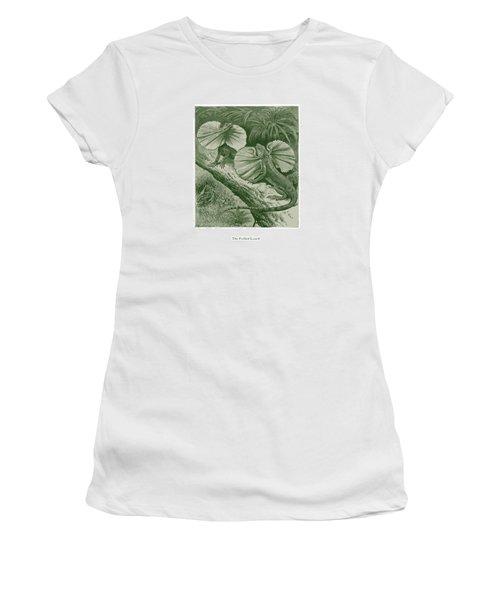 The Frilled Lizard Women's T-Shirt (Junior Cut) by David Davies
