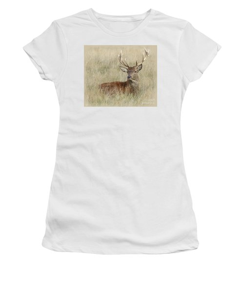 The Gentle Stag Women's T-Shirt (Athletic Fit)