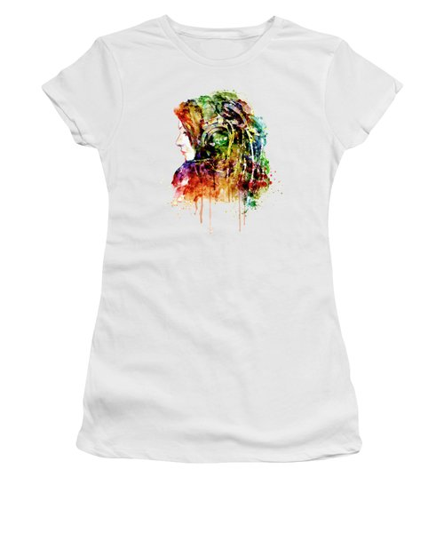 The Girl Is A Dj Women's T-Shirt