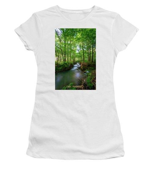 The Green Forest Women's T-Shirt