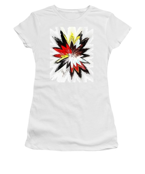 The Happy Asteroids Women's T-Shirt (Athletic Fit)
