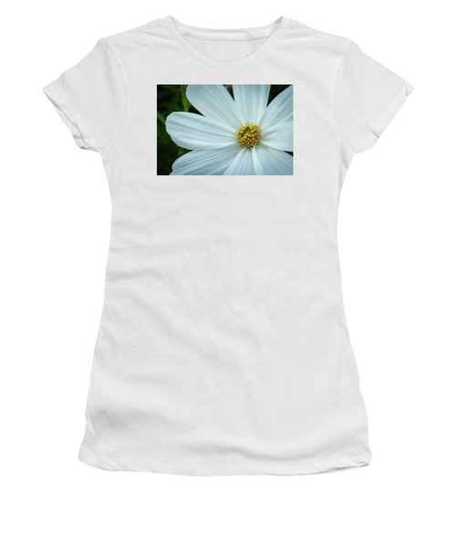 The Heart Of The Daisy Women's T-Shirt (Junior Cut) by Monte Stevens