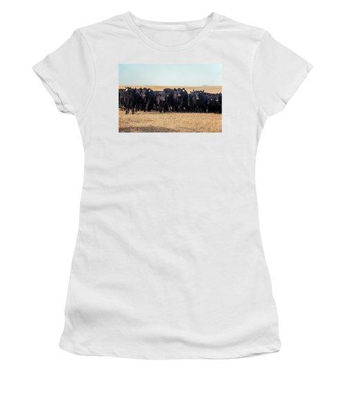 The Herd Rushes In Women's T-Shirt