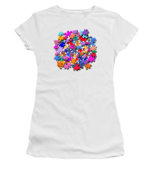 The Impossible Puzzle Women's T-Shirt (Junior Cut) by Bill Owen