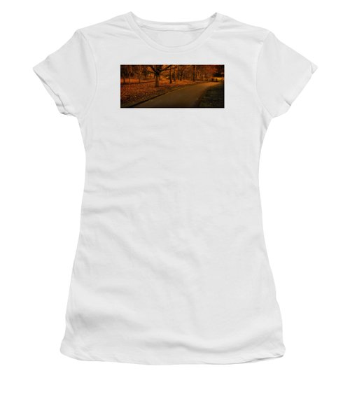 The Innocent Railway Path Women's T-Shirt (Junior Cut)