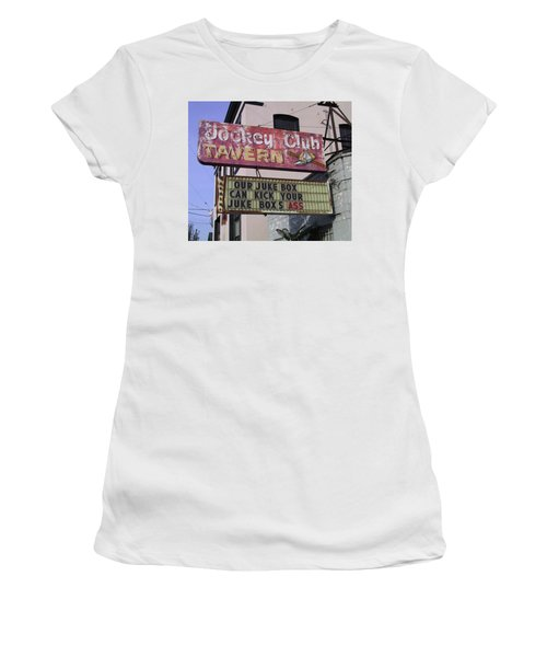 The Jockey Club Women's T-Shirt (Athletic Fit)