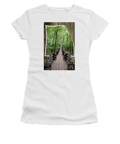 The Journey  Women's T-Shirt (Athletic Fit)
