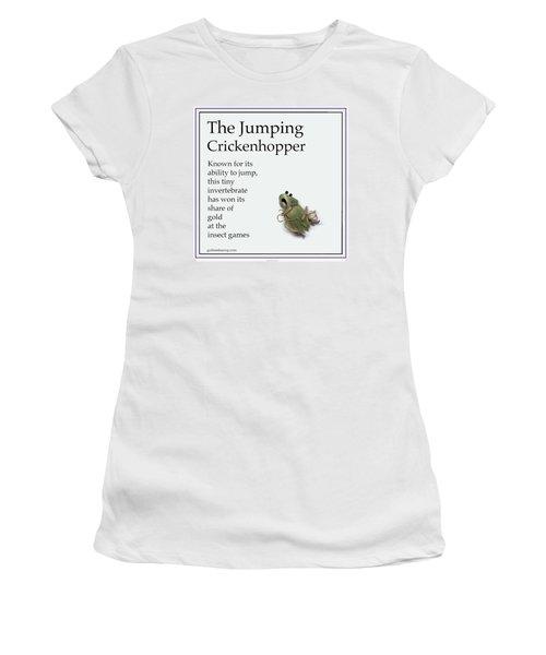The Jumping Crickenhopper Women's T-Shirt