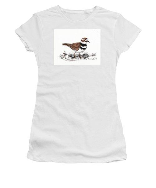 The Killdeer Women's T-Shirt (Athletic Fit)