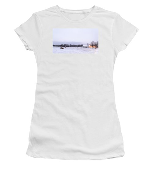The Last Farm... Women's T-Shirt (Athletic Fit)