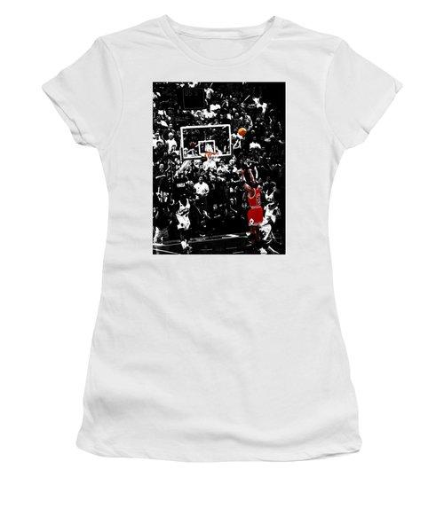 The Last Shot 23 Women's T-Shirt (Athletic Fit)