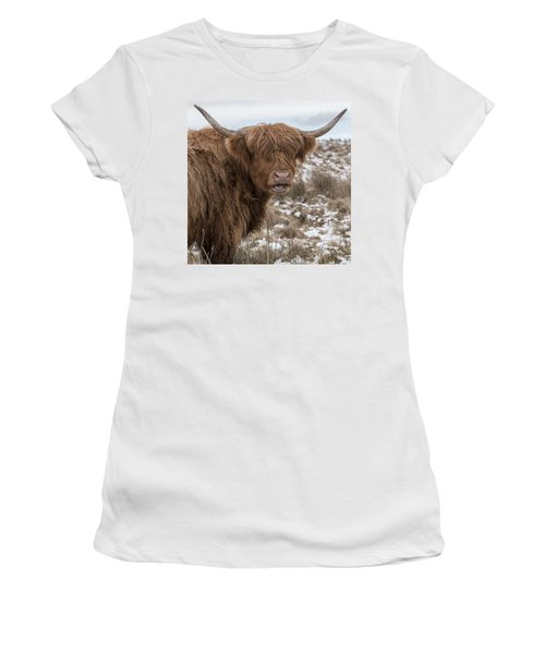 The Laughing Cow, Scottish Version Women's T-Shirt (Junior Cut) by Jeremy Lavender Photography