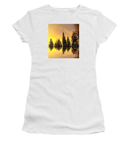 The Light Women's T-Shirt (Junior Cut) by Elfriede Fulda