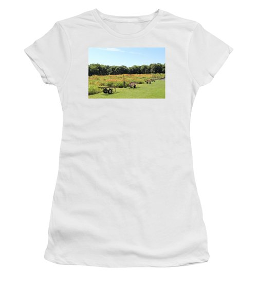 The Lilies Of The Fields Women's T-Shirt (Athletic Fit)