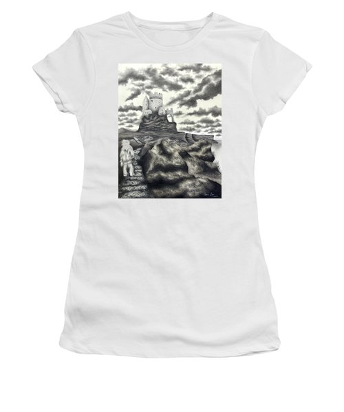 The Moher Giant Women's T-Shirt (Athletic Fit)