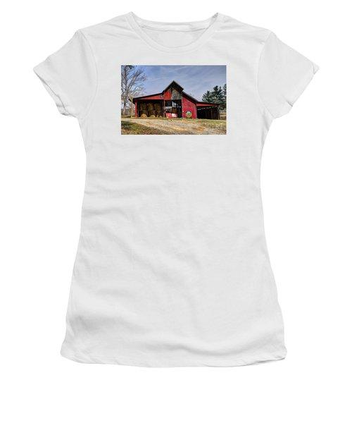 The New Barn Women's T-Shirt (Junior Cut) by Paul Mashburn