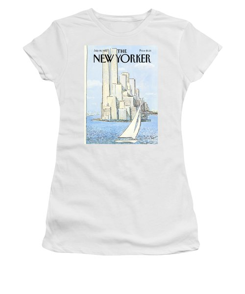 The New Yorker Cover - July 19th, 1982 Women's T-Shirt