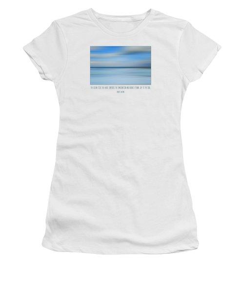 The Ocean By Robert Wyland Women's T-Shirt